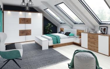 Livorno - sypialnia biała